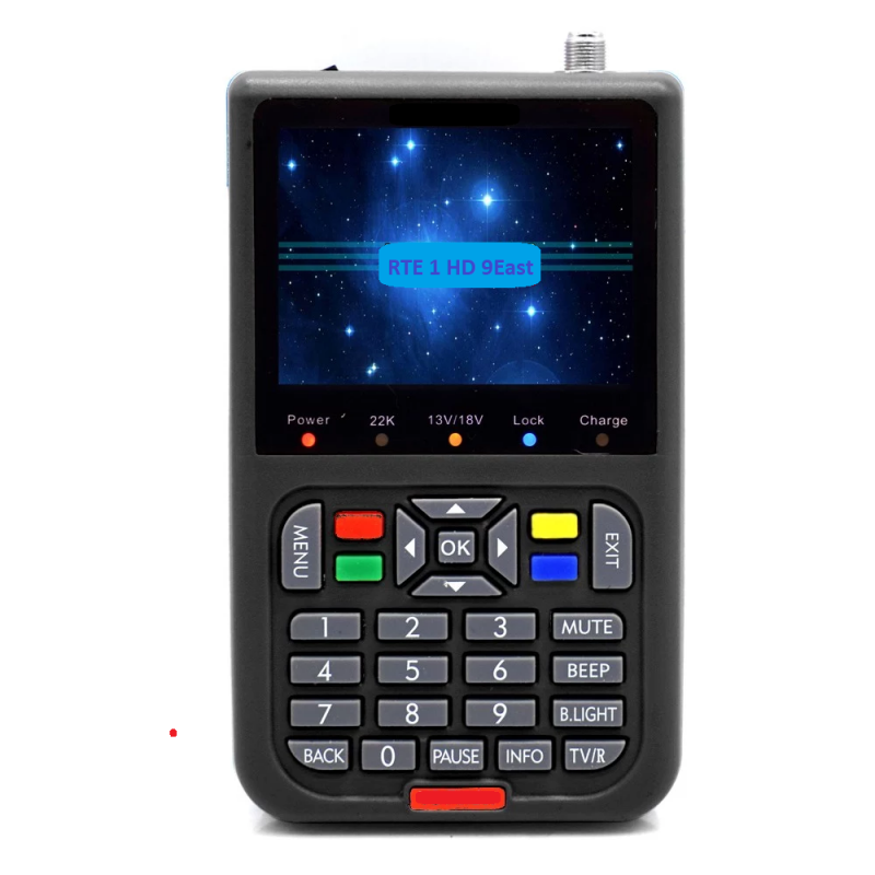 Satellite TV Meter with 3.5in LCD Colour Screen