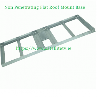 Non Penetrating Flat Roof Mount