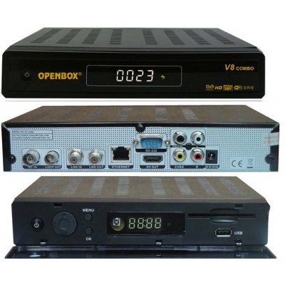 Openbox V8 HD Combo Satellite + Saorview HD Receiver