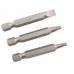 PTX 3 Piece Chrome Vanadium FLAT ScrewDriver Set