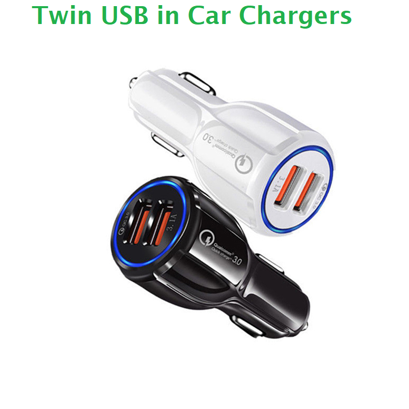 Twin USB in Car Charger