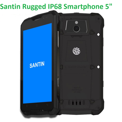 Rugged 5inch 4G Octo Core 2 SIMS - IP68 Android Smartphone, Waterproof, Dustproof and Shockproof