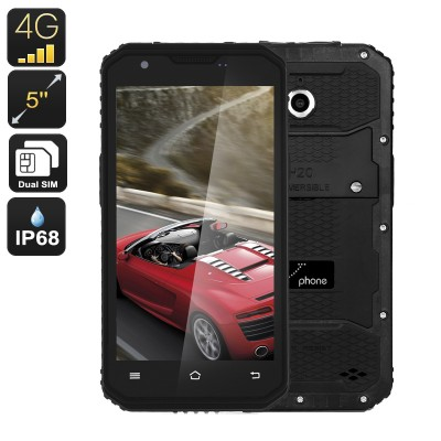 M3 Rugged 5inch 4G Quad Core 2 SIMS - IP68 Android Smartphone, Waterproof, Dustproof and Shockproof