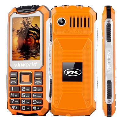 GSM Stone V3S Rugged Phone - IP54, 2.4 Inch display, Dual SIM, Quad Band