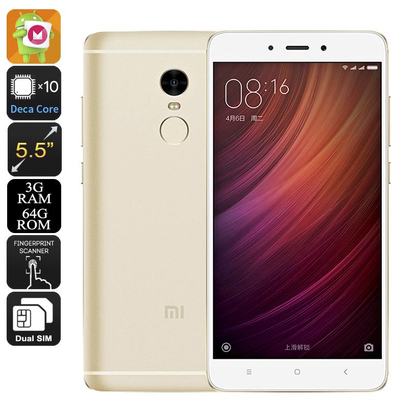 Xiaomi 4G+ Redmi Note 4 - 2 Sims - 64GB - Deca Core 2.1GHz Mobile Phone