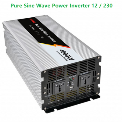4KW Pure Sine Wave Power Inverter (12volt)