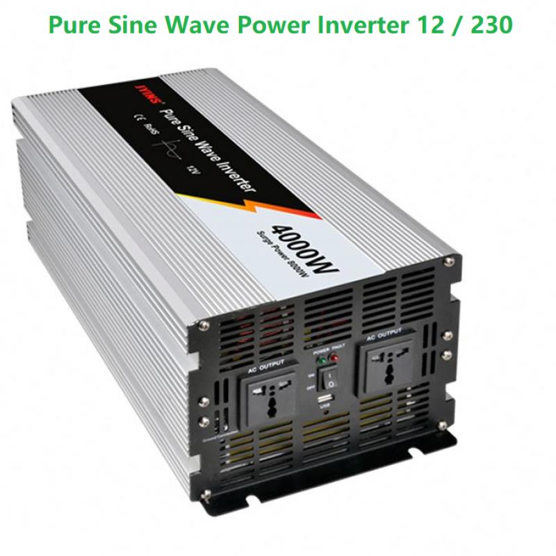 4KW Pure Sine Wave Power Inverter (12volt)