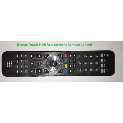 Humax Foxsat HDR Replacement Remote Control
