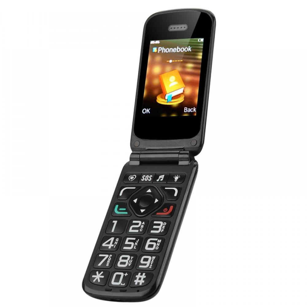 Retro mobile phone large keys loud speaker intelligent for Mobile telefono