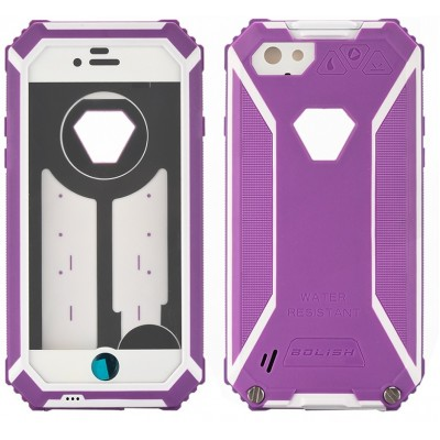 Rugged iPhone 6 Case - Purple - IP68