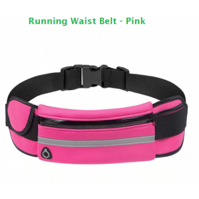 Running/Walking/Security Waist Belt - 4 Colours