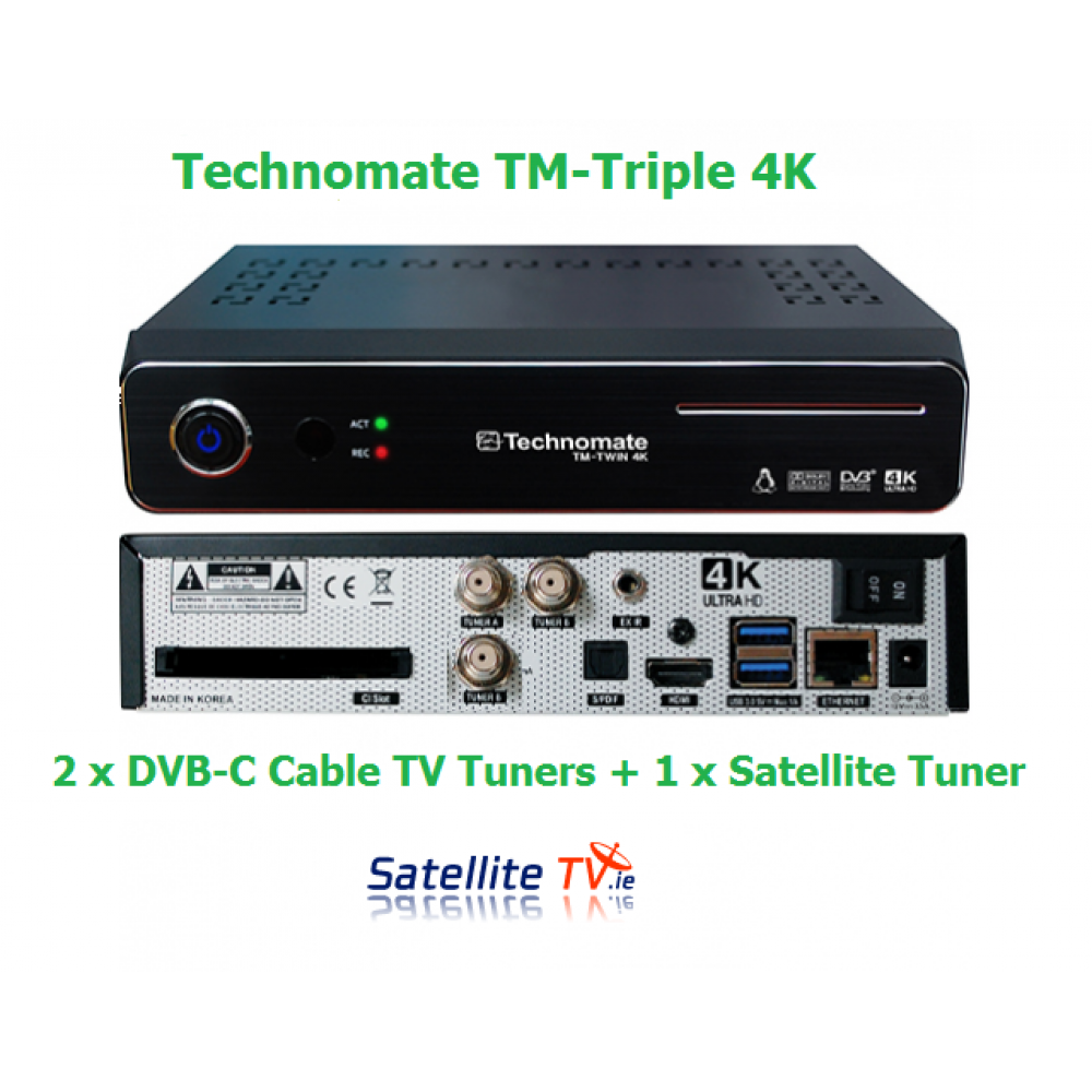 Linux HD Receivers - Card Sharing Receivers - Satellite TV