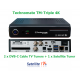 Technomate TM-Twin 4K -  Triple Tuner 4K UHD Satellite + CABLE TV  Receiver