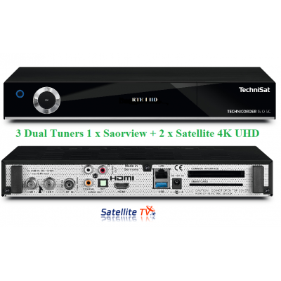 Technisat UHD 4K Combo Satellite / Saorview Receiver
