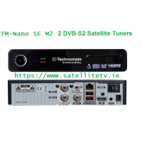 Technomate Nano SE M2 Satellite Twin Receiver 2 x DVB-S2