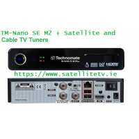 Technomate Nano SE M2 Satellite + Cable HD Receiver