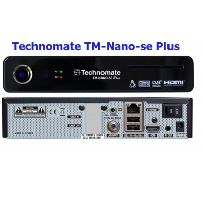 Technomate TM Nano SE Plus Linux HD Satellite Receiver