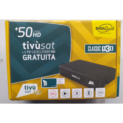 Tivusat HD Satellite Receiver + Card