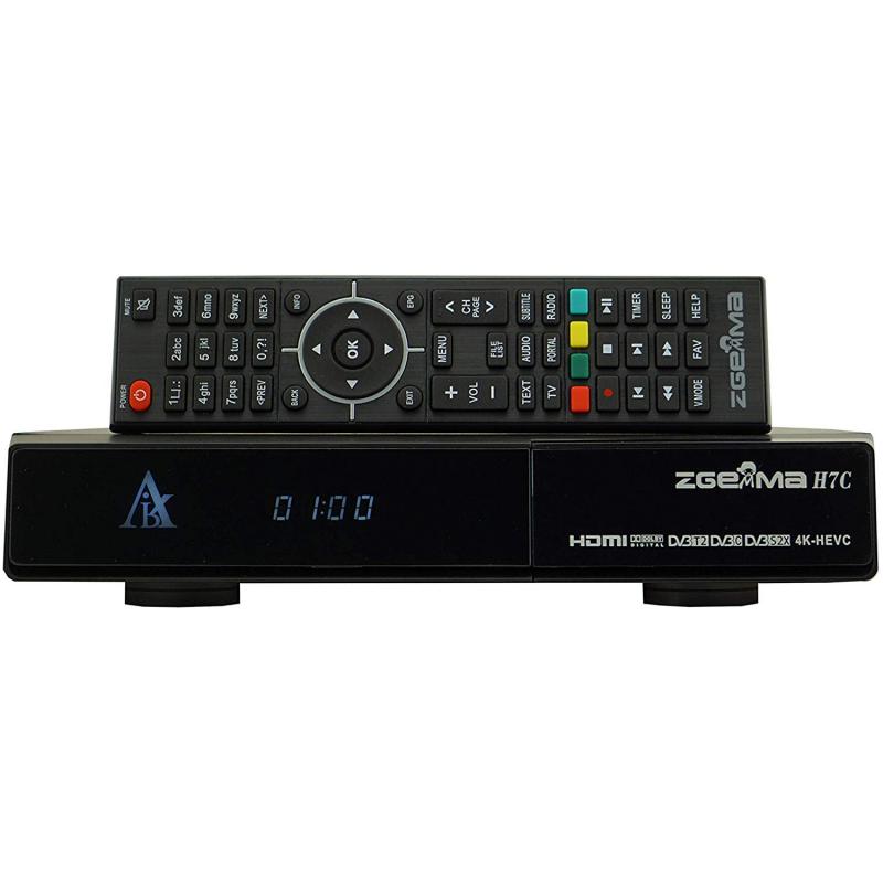 Zgemma 2 x DVB-S2 + 1 x DVB-T2/C 4K UHD Receiver