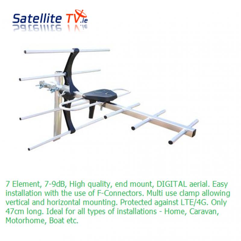 Stinger Mini 7 Element TV Aerial 7-9dB