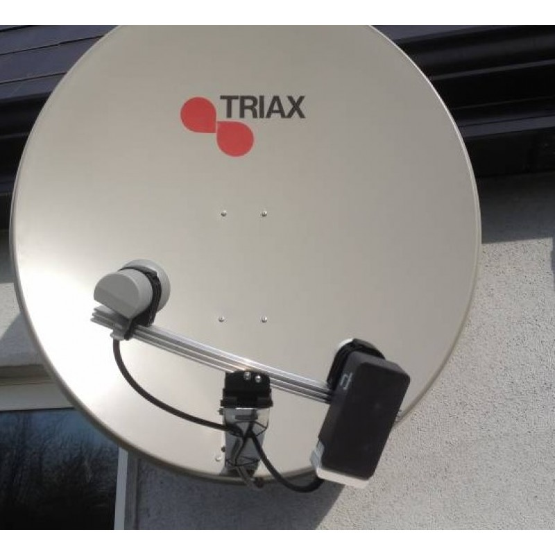 Saorsat and Freesat with Triax TD110 and BORC DVB-S2 PVR Receiver