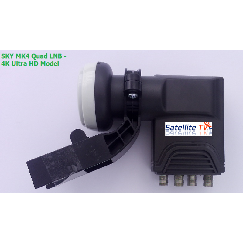Sky Quad LNB 4K Ultra HD Latest Design
