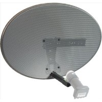 Raven Zone 2 Satellite Dish ( with Twin LNB )