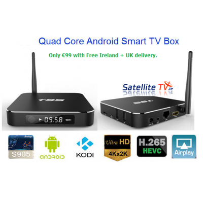 AAA T95 4K + Full HD 1080p Android TV Kodi 16.0 Quad Core STB