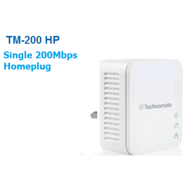 Technomate TM-200 HP -  200Mbps Homeplug x 1