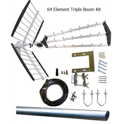 Mux Magician Triple Boom - 64 Elements Kit
