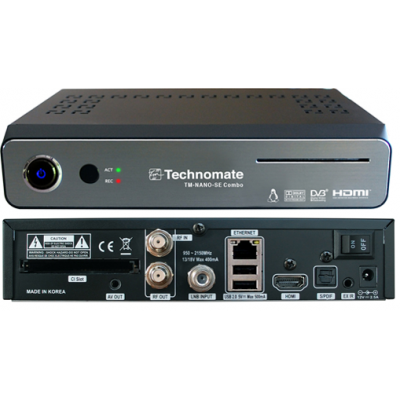 Technomate Nano SE Satellite + Saorview HD Receiver