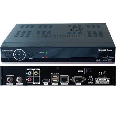 Technomate TM Nano 2 Super HD 1080p  - Linux Twin Tuner