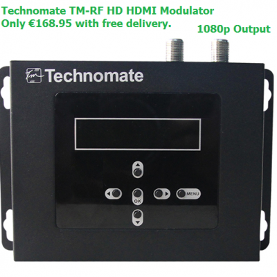 Technomate TM-RF HD - HDMI Modulator