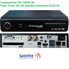 Technomate TM-Twin 4K -  Twin Tuner 4K HD Satellite Receiver