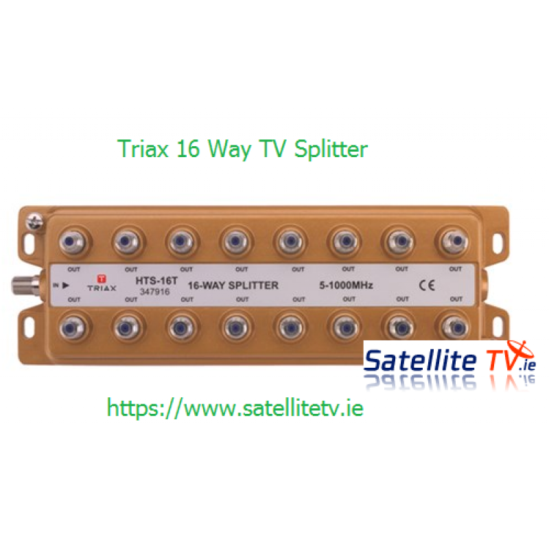 16 Way TV Aerial Splitter