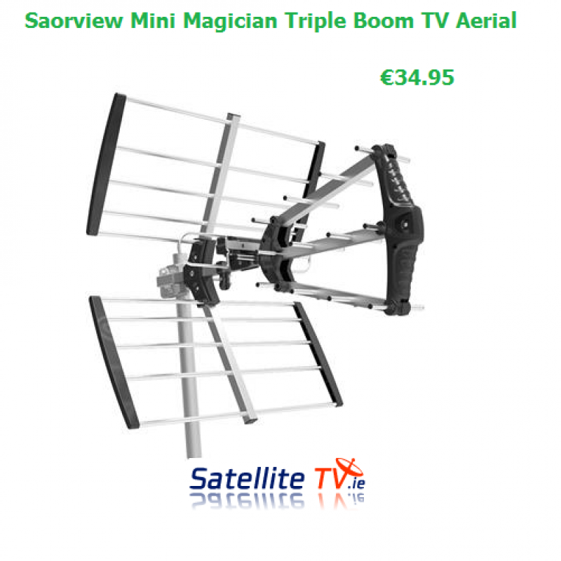 MINI Magician ( Triple Boom ) TV Aerial 15 Elements