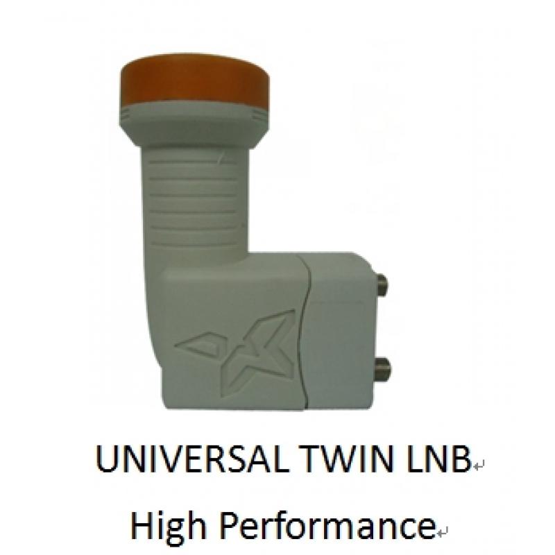 Universal Twin LNB 0.1db - 2 Outputs - High Performance