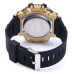Mens LED Sports Watch - Gold