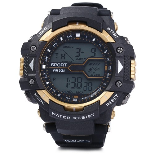 Men's LED Sports Watch