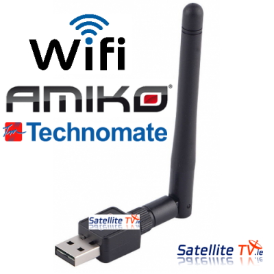 USB Mini Wireless Wifi Adaptor - 150mbps