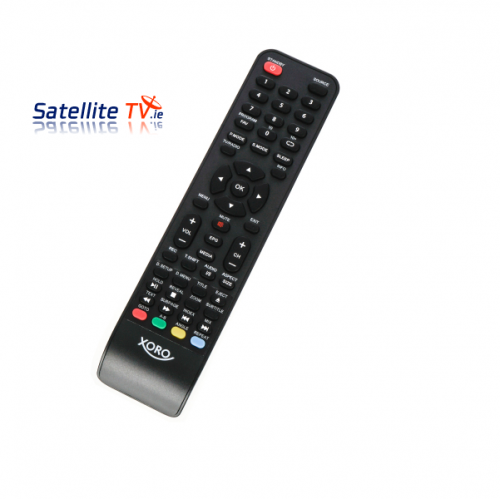 Xoro LED DVD Saorview, Cable + Satellite TV Remote Control