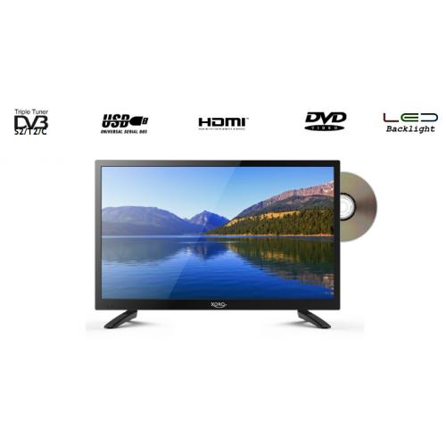 Xoro LED TV + Saorview + Satellite + DVD TV 1080p 21.5inch - 12v DC